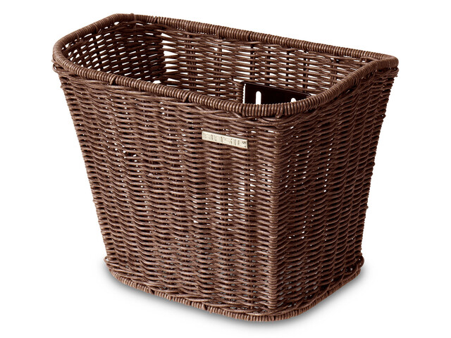 Basil Berlin Vorderrad-Korb Rattan Look nature brown
